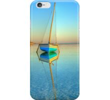 Surreal dhow in paradise iPhone Case/Skin