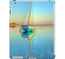 Surreal dhow in paradise iPad Case/Skin