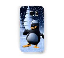 Dancing Penguin Samsung Galaxy Case/Skin