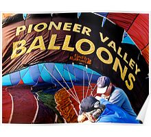 Wrestling With Hot Air Poster