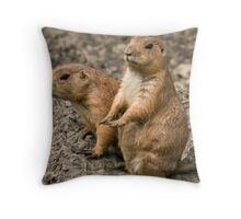 """I'm waiting for my manicure........."" Throw Pillow"