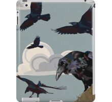 Crow invasion iPad Case/Skin