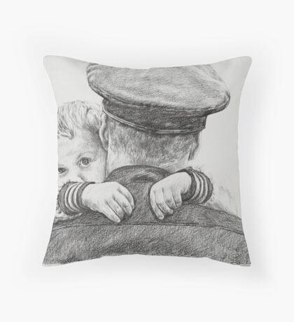 'My Hero' Throw Pillow