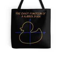 Harry Potter The exact function of  a rubber duck Tote Bag