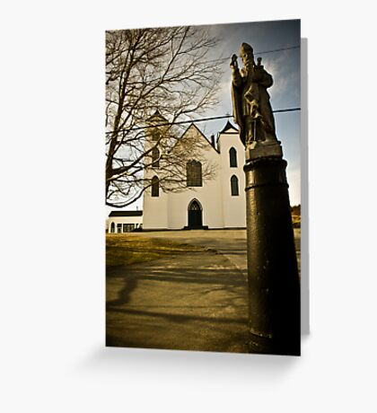 Canonized Saints of Bay Bulls Greeting Card