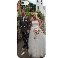 Confetti Time for Maria & Gareth iPhone Case/Skin
