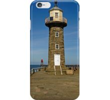 Disused East Pier Lighthouse, Whitby iPhone Case/Skin