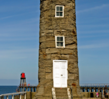 Disused East Pier Lighthouse, Whitby Sticker