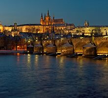 Evening in Prague by MartinCapek