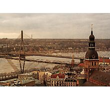 Riga from above Photographic Print