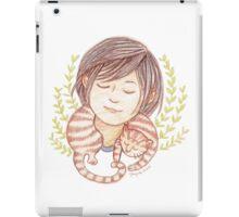 Sleeping Marmalade Tabby iPad Case/Skin
