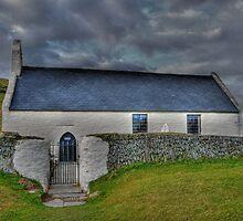 Mwnt Church by Tom  Bridge