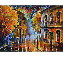 ETUDE IN RED limited edition giclee of L.AFREMOV painting Photographic Print
