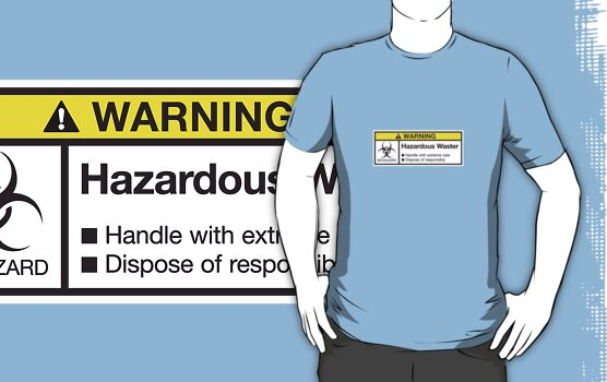 Hazardous Waster by rubyred