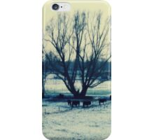 Winter - JUSTART © iPhone Case/Skin