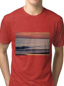 Sunset Wave Tri-blend T-Shirt