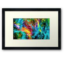 Color art Framed Print