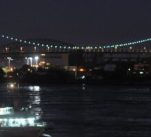 Party Boat on East River Sticker