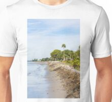 Seawall and Beach Unisex T-Shirt