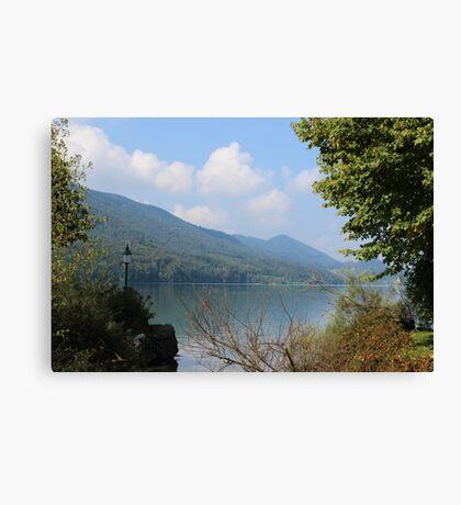 Fuschl Am See Canvas Print
