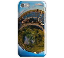 Fishing Boat, Killeany Pier, Inishmore, Aran Islands iPhone Case/Skin