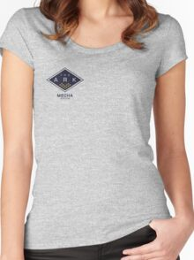 The Ark - Mecha Station Women's Fitted Scoop T-Shirt