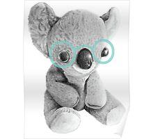 Geeky Koala Poster