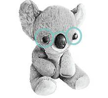 Geeky Koala Photographic Print