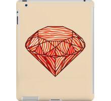 Bacon diamond iPad Case/Skin