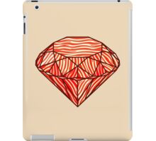Bacon diamond iPad Case/Skin