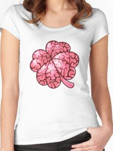 Smart thinking or just dumb luck? Women's Fitted Scoop T-Shirt