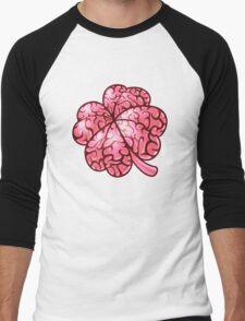 Smart thinking or just dumb luck? Men's Baseball ¾ T-Shirt