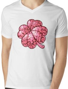 Smart thinking or just dumb luck? Mens V-Neck T-Shirt