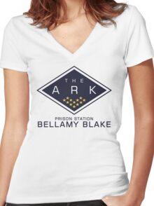 The 100 - Bellamy Blake Women's Fitted V-Neck T-Shirt