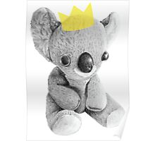 Prince Koala Poster