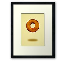 Impossible donut Framed Print