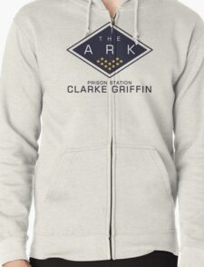 The 100 - Clarke Griffin Zipped Hoodie