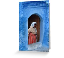 BERBER LADY - MOROCCO Greeting Card