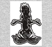 Meditating Monkey One Piece - Long Sleeve