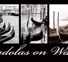 Gondolas on Watch by DavidROMAN
