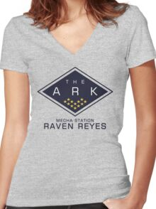 The 100 - Raven Reyes Women's Fitted V-Neck T-Shirt