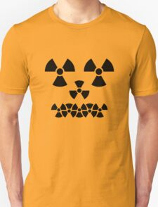 Radioactive face Unisex T-Shirt