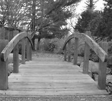 bridge in garden by ksteiling