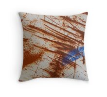 Rusty Boat - Newport, Oregon Throw Pillow