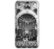 Mission San Xavier del Boc Church Interior iPhone Case/Skin