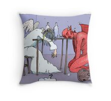 Conversation (colour) Throw Pillow