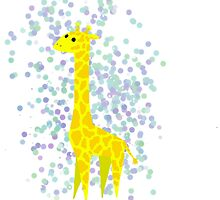 Bubbly giraffe by narwhalwall