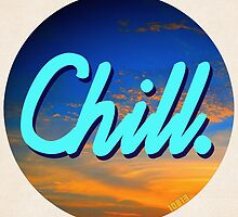 Chill Circle 1 by 10813Apparel