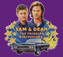 Sam & Dean Vintage Transfer by CodependentBros