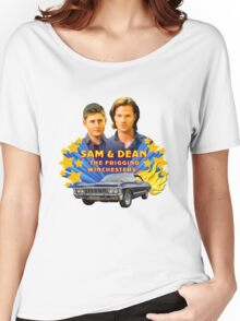 Sam & Dean Vintage Transfer Women's Relaxed Fit T-Shirt